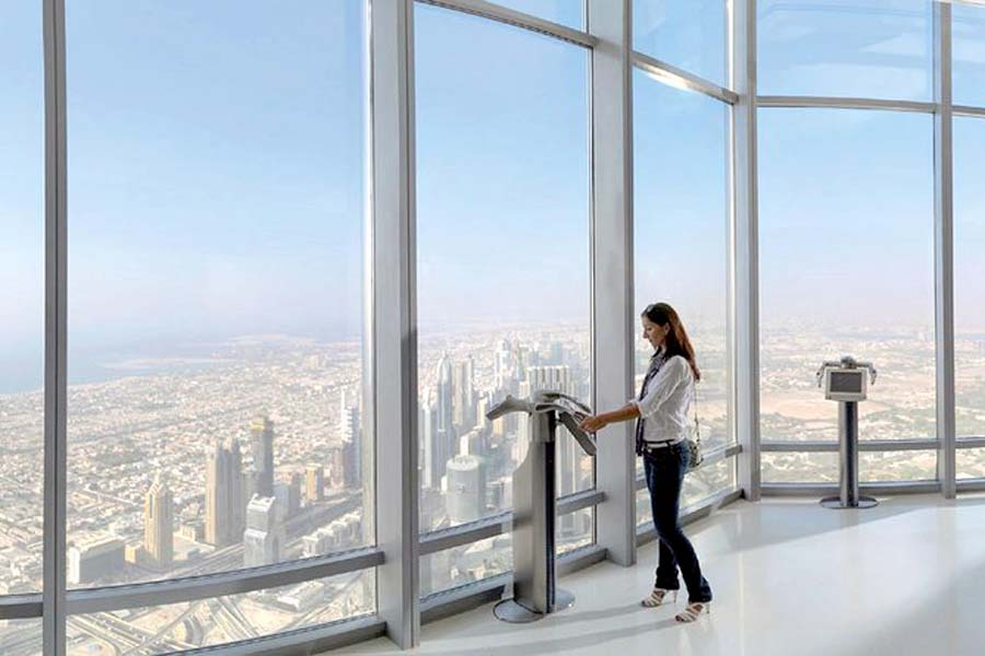 Dubai | Burj Khalifa, Dubai 124 Floor - At The Top Entry Tickets
