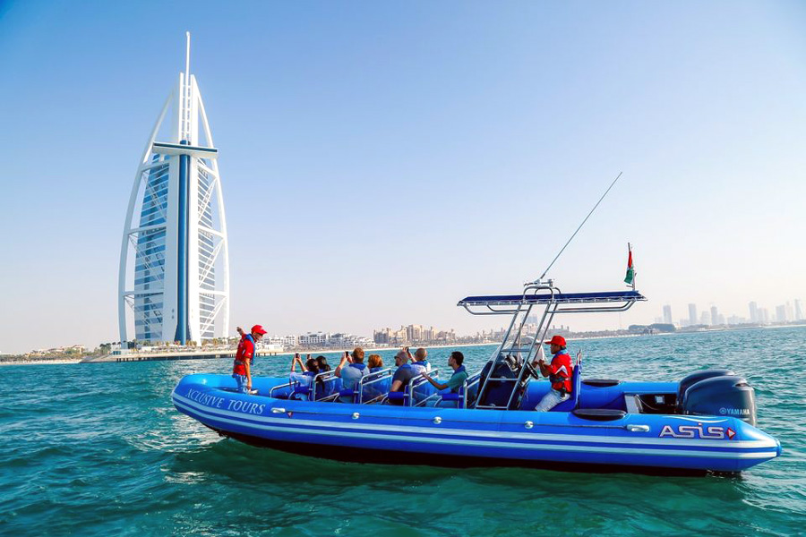 Dubai | 90-Minute Palm Jumeirah & Burj Al Arab By Rib