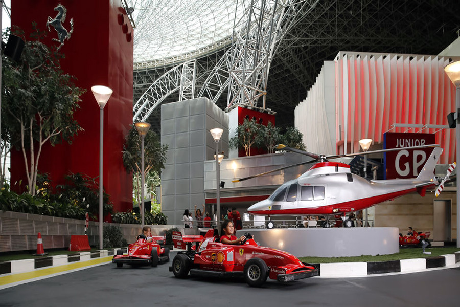 Abu Dhabi | Ferrari World Abu Dhabi Ticket
