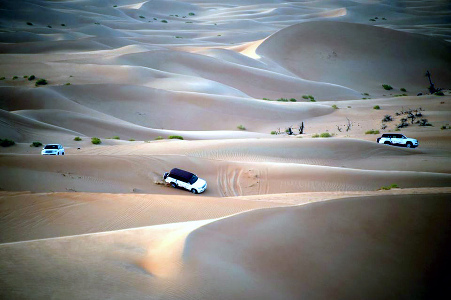 Dubai | Red Dune Desert Safari With BBQ, Sandboarding & Camel Ride