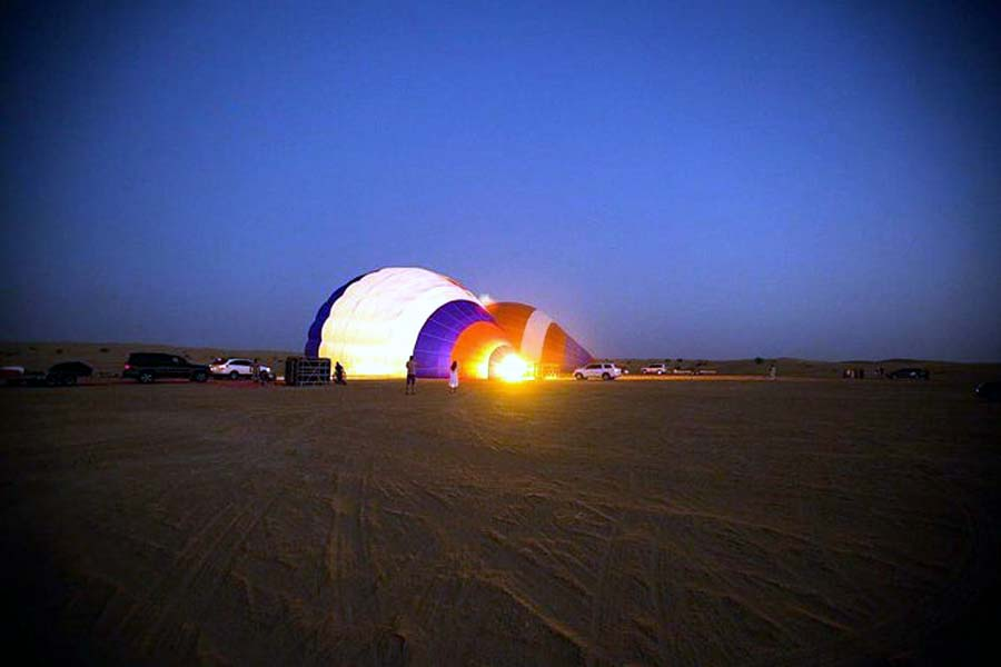 Duba | Dailysunrise Ballon Tour I